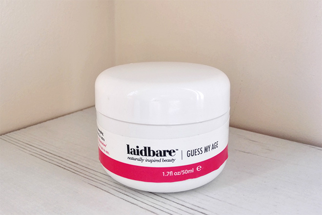 laidbare guess my age anti-ageing cream