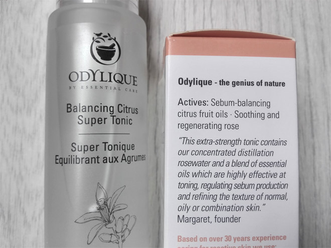 Odylique organic toner suitable for all skin types