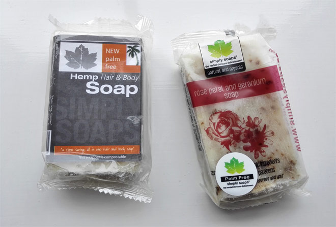 Simply Soaps: palm-free natural soaps